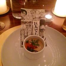 Chawanmushi, crab, and roe
